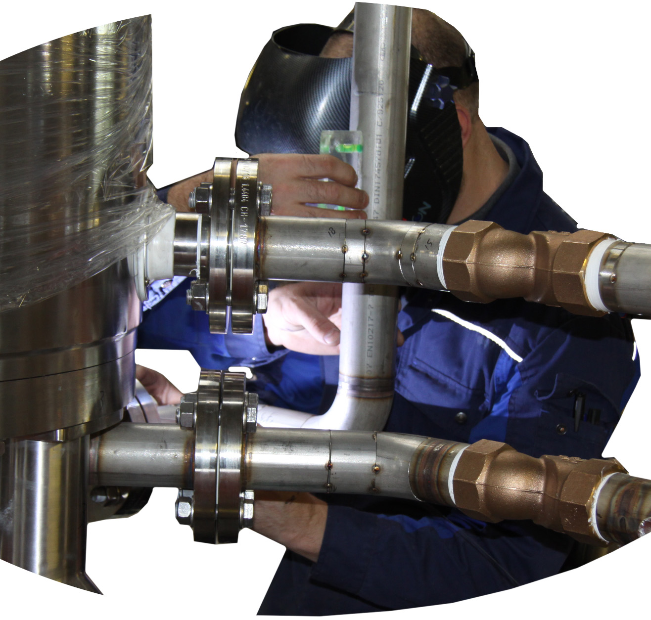 Experience Welder Heat Exchanger