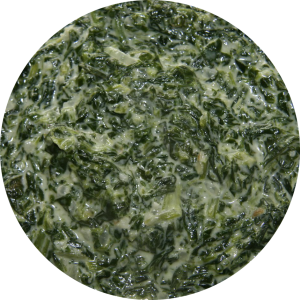 Spinach crystallisation